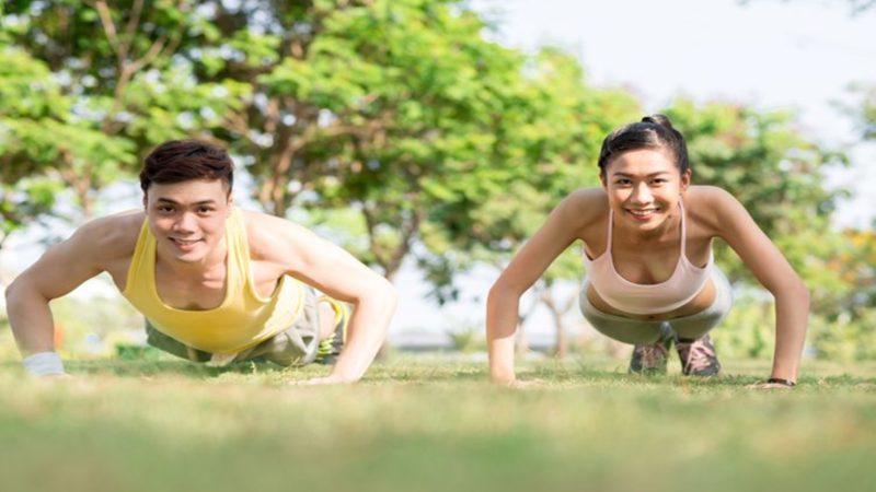 Push Up untuk Jantung Sehat
