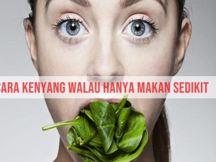 Cara Kenyang Walau Hanya Makan Sedikit