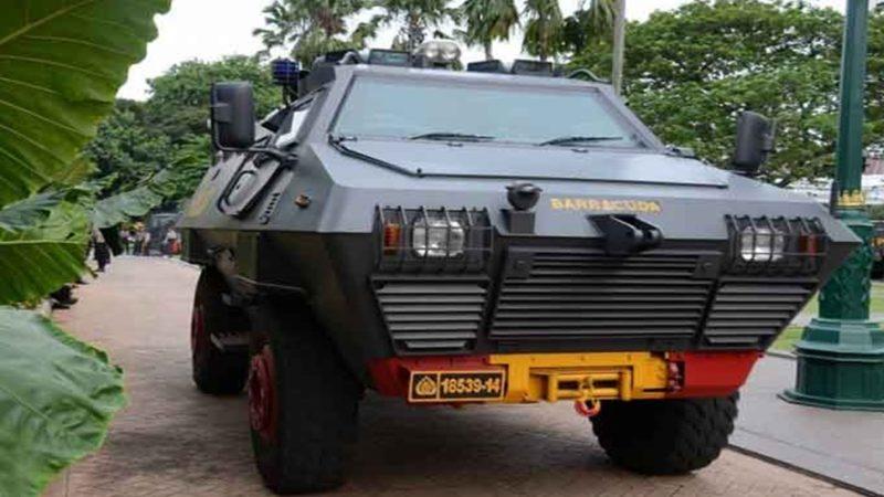 Barracuda 'Si Kulit Baja', Kendaraan Milik Korps Brimob
