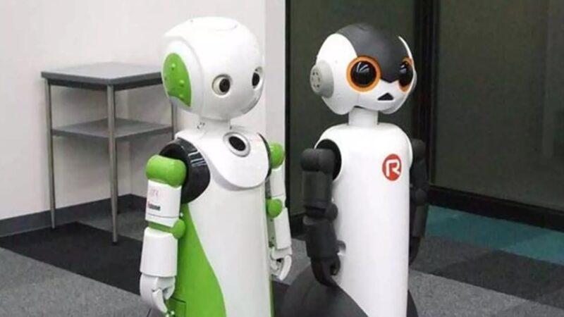 Di Jepang Luncurkan Robot , Mengingatkan Manusia Pakai Masker