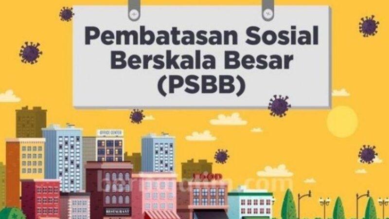 PSBB Ketat Kembali Diterapkan di Semua Daerah Mulai 11 Januari 2021