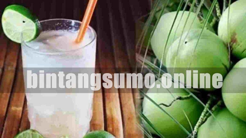 air kelapa muda untuk mencegah penuaan dini